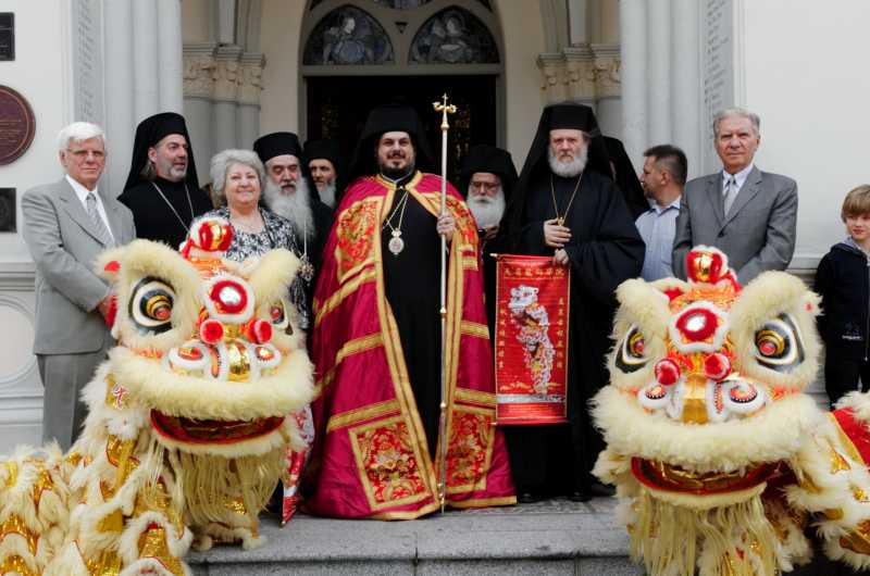 Enthronement of Metropolitan Konstantinos of Singapore and South Asia
