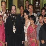 Pastoral visit of Metropolitan Konstantinos in Jakarta