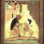 The Lion and the Hermit: Saint Gerasimos the Jordanite