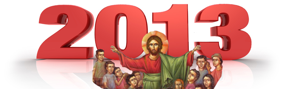 January 1st: Blessed the New Year 2013