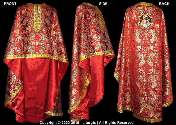 The Liturgical Vesting of an Orthodox Priest