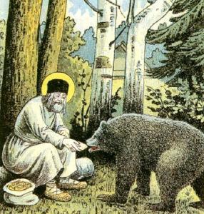 saint-seraphim-of-sarov-and-bear