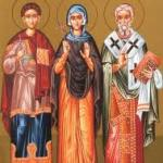 Saints Boniface and Aglaia as Models for our Lives