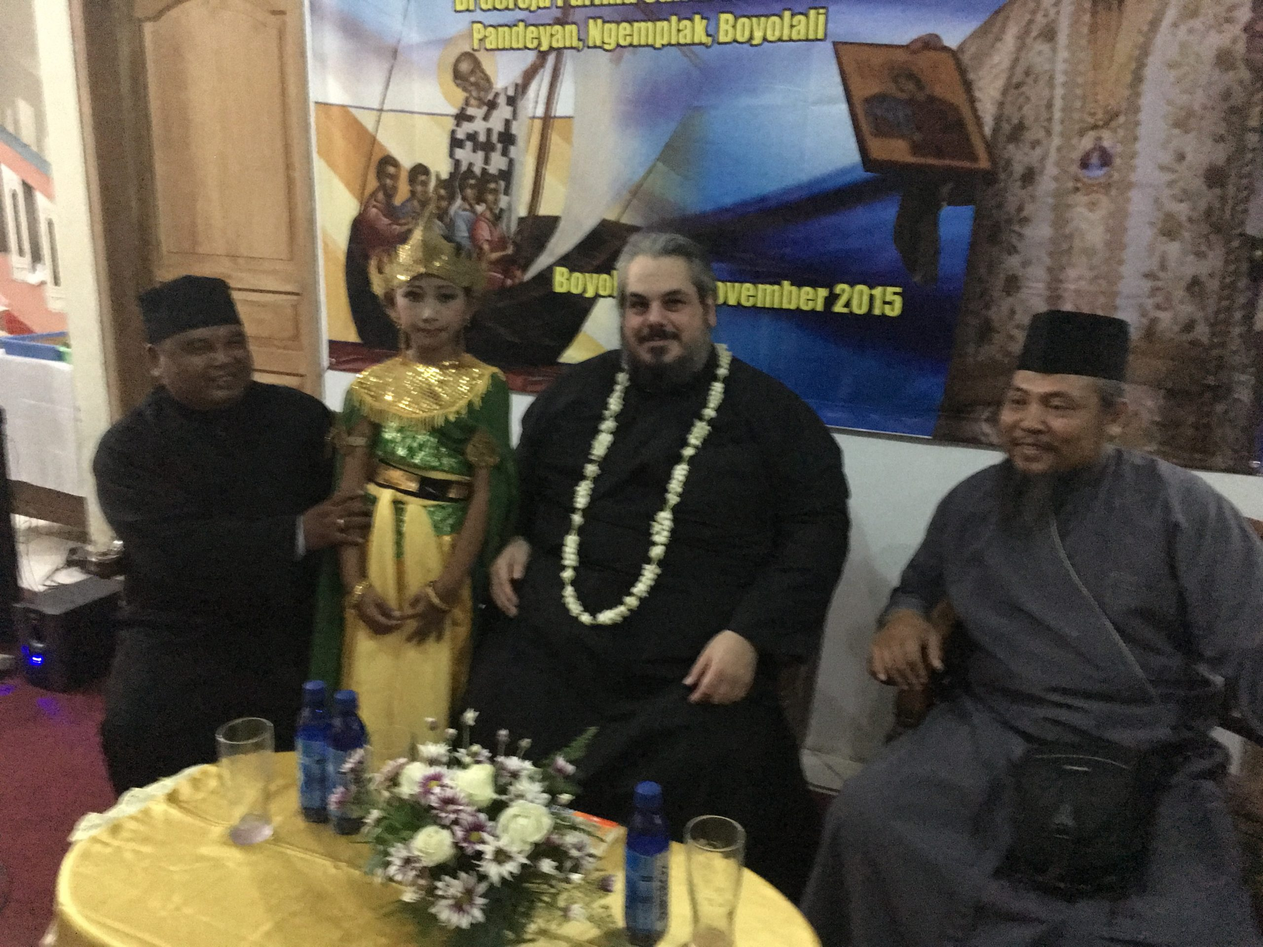 Metropolitan Konstantinos visited the Orthodox Parishes in Java