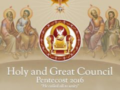 Holy Synod Pentecost 2016 Crete, Greece