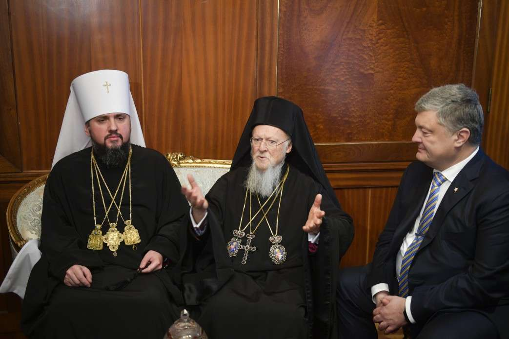 THE ECUMENICAL THRONE AND THE CHURCH OF UKRAINE – THE DOCUMENTS SPEAK