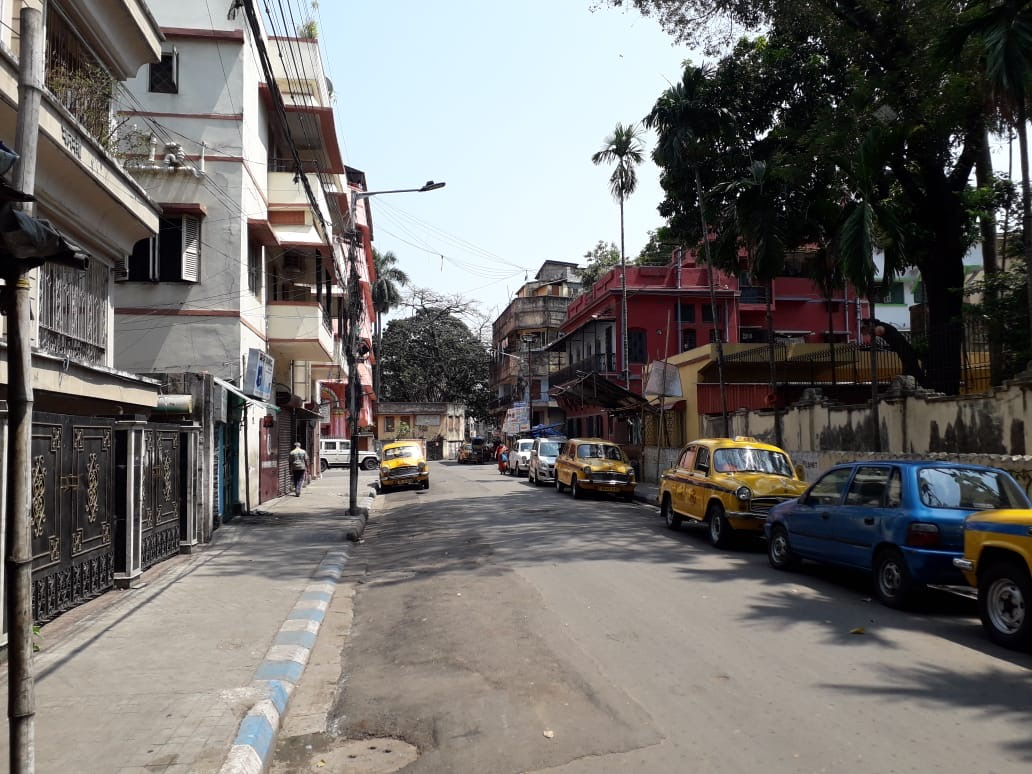 Kolkata under lock down