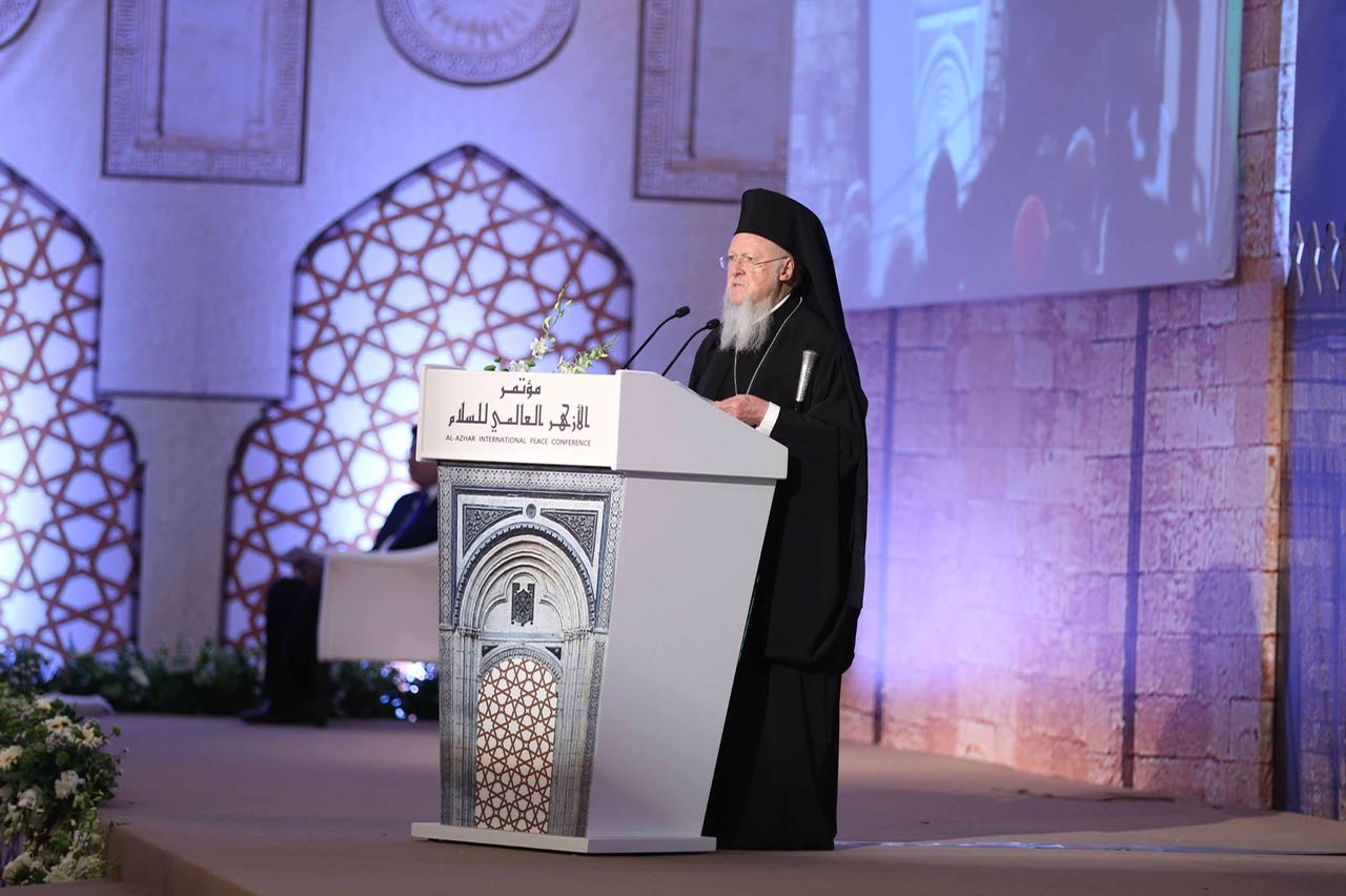 Ecumenical Patriarch of Constantinople supports call to pray
