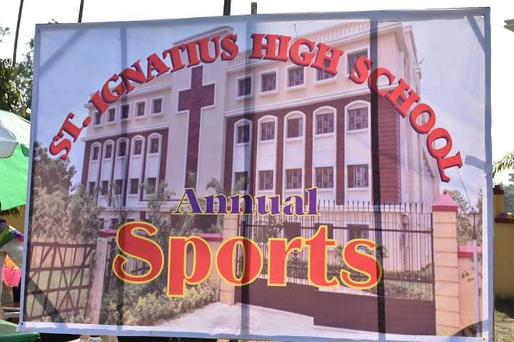 "Annual Sports Day in ""Saint Ignatius"" High School, Bakeswar, Kolkata, India"