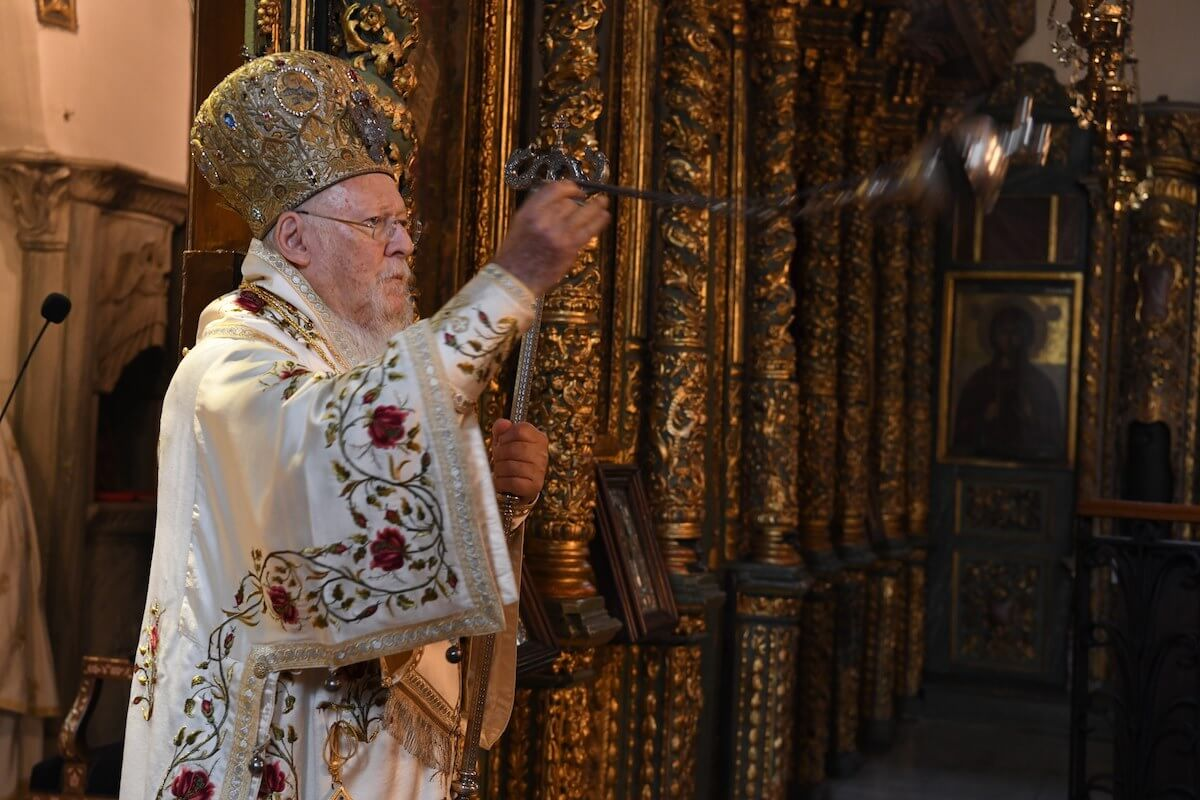 Ecumenical Patriarch: We have God's power that is infinitely more powerful than any kind of pandemic